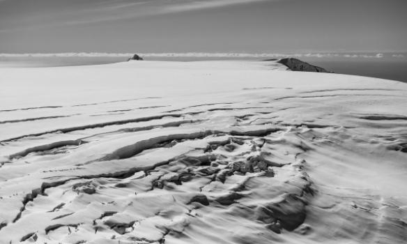 Fyrstu hópar að koma yfir Öskjuna af Sandfellsleið