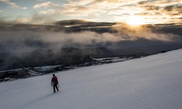 Suðurhlíðar Eyjafjallajökuls