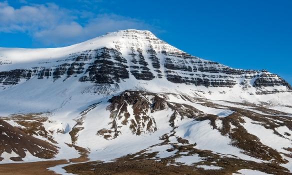 Frá hlið, þarna sést aðeins í aðrar leiðir sem snúa dáldið í austur.