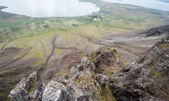 Þarna sést glitta í Adda neðarlega