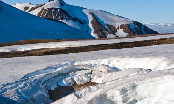 Hverasvæði við Kaldaklofsfjöll