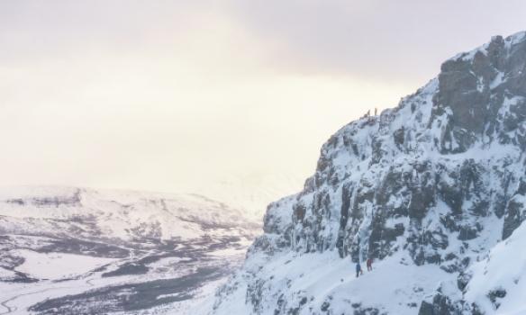 Vinstra megin við Ístenefið