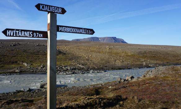 Stutt eftir, eða 9,7km