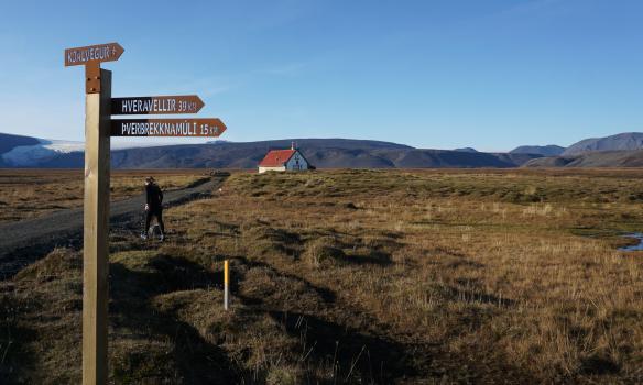 Klárað að draugaskálanum fræga