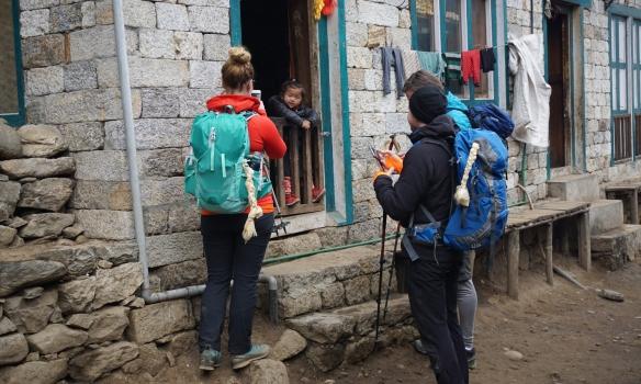 Krakkar í Khumbu dalnum vekja athygli
