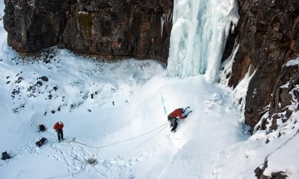 Addi að komast í lykilkafla Single malt on the rocks en svo hliðruðum við í appelsín þegar ofar dró.