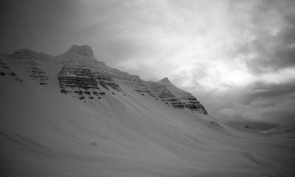 Skarðshorn og Heiðarhorn.