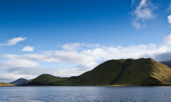 Stoppuðum aðeins við Kýlingavatn