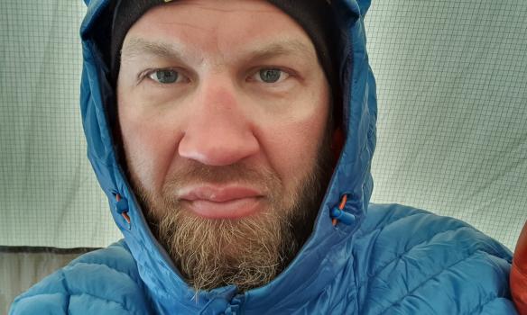 Bónusmynd úr síma, nývaknaður