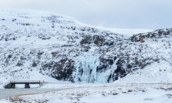 Keyrðum aðeins norður upp fjörðinn