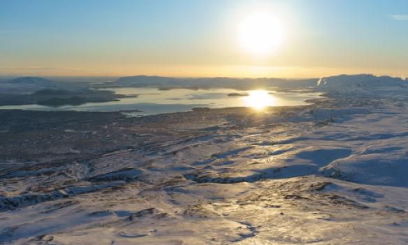 Útsýnið til Þingvalla