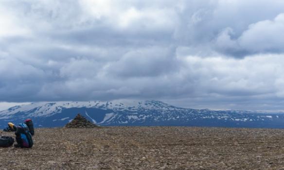Séð til Heklu