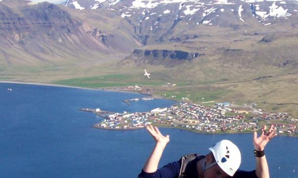 Einhverjum hálvitanum datt í hug að halda á Grundarfirði...