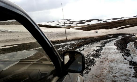 Þennan veg kölluðum við Lækjargötu.