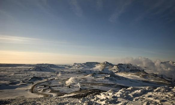 Þetta er nú bara tekið af Hengilsvæðinu, nálægt Skarðsmýrarfjalli.