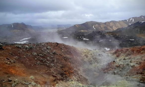 Hitasvæði við Brennisteinöldu
