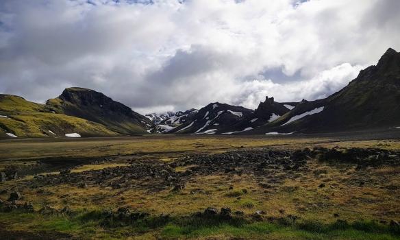 Veðrið daginn eftir lofaði góðu