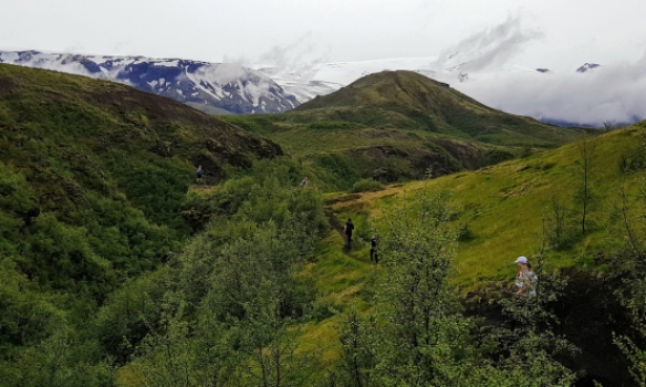 Komin í Þórsmörk