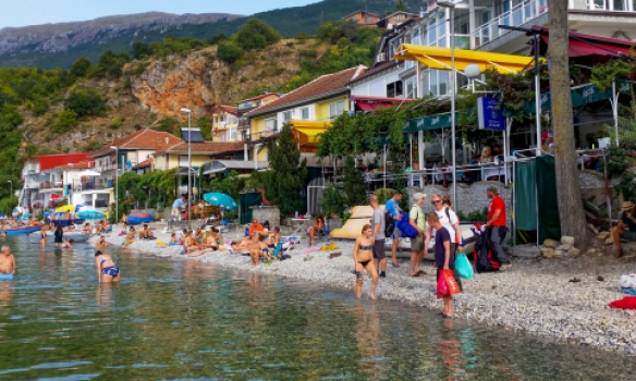 Við Ohrid vatn