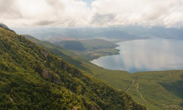 Komnir aftur til Ohrid