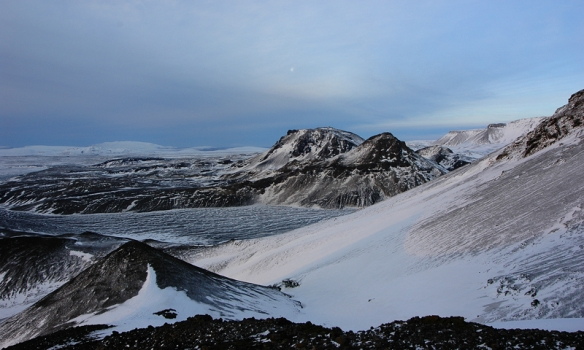 Byrjaðir að hækka okkur aðeins.