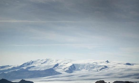 Aftur Öræfajökull